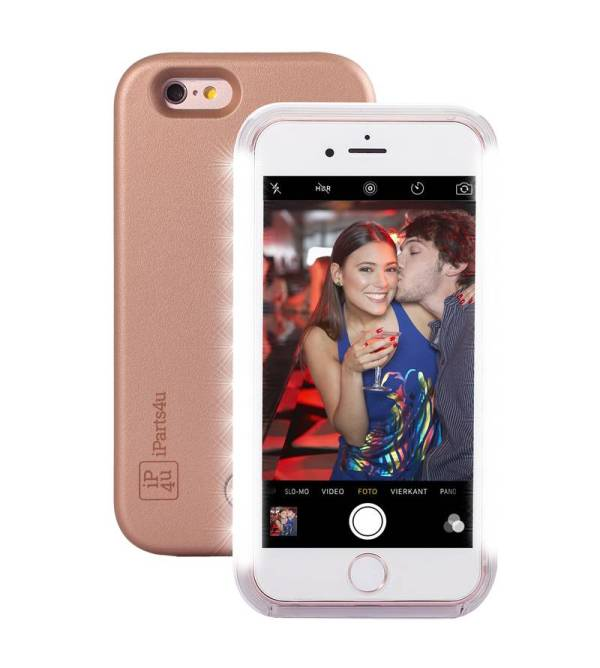 Selfie Hoesje iPhone 6/6S Rose Goud