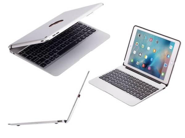 Aluminium Toetsenbord iPad Air 2 en iPad Pro 9.7 inch Zilver Executive