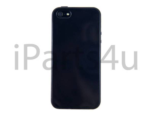Siliconen Gel iPhone 5/5S Hoesje Zwart