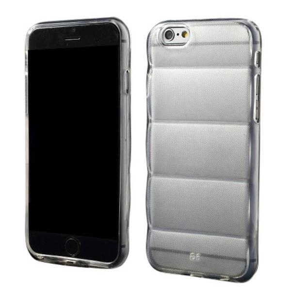 Siliconen Gel TPU iPhone 6 en 6S Body Armor Hoesje Transparant
