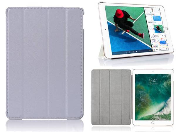 iPad Pro Hoes 10.5 inch Smart Case Kunstleder Grijs