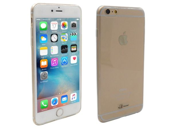 iPhone 6S Plus Hoesje Ultra Dun Siliconen Transparant