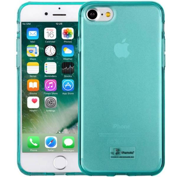 iPhone 8/7 Hoesje Siliconen Groen Transparant