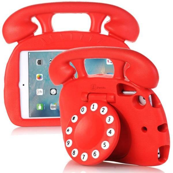 Kinderhoes iPad Mini Retro Telefoon Rood