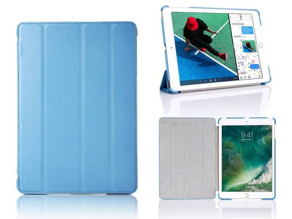 iPad 2017 Hoes / iPad Air Smart Case Leder Blauw
