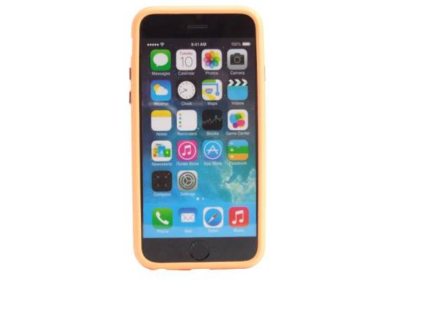 iPhone 6 en 6S Bumper Oranje