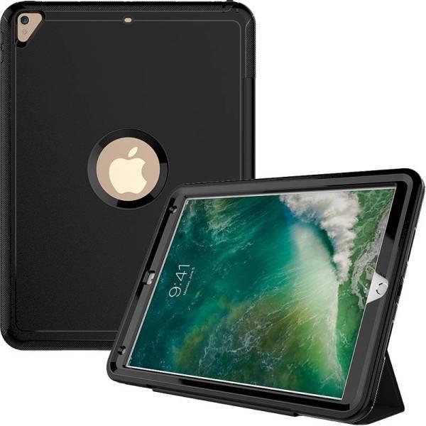 iPad Pro 12.9 Shockproof Hoes Schokbestendig Smart Case Zwart