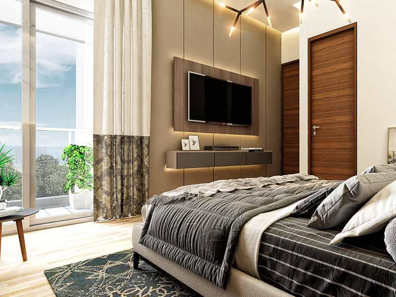 Ganga-Serio-Homes-in-Kharadi-Master-Bedroom