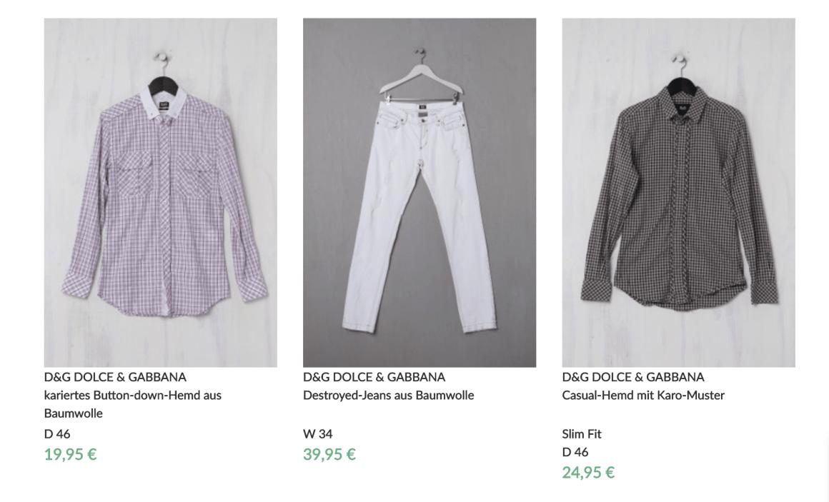 Vintage Dolce & Gabbana: Auswahl bei Styleflow