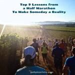 half marathon lessons make someday reality
