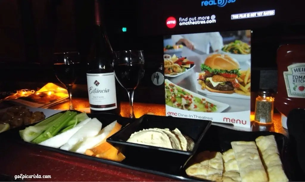 Dinner and Movie AMC Fork & Screen review www.goepicurista.com