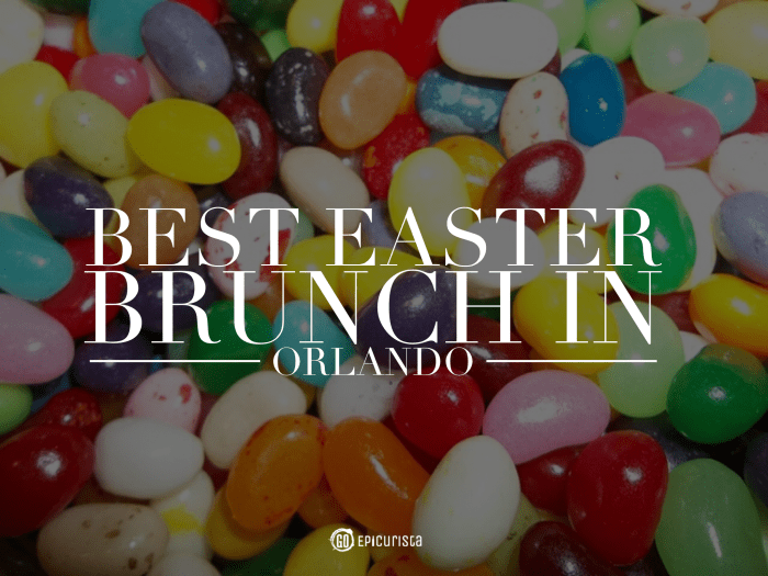 Best Easter Brunch in Orlando