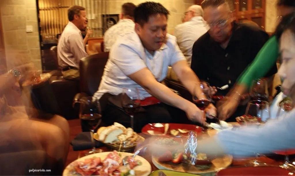The Wine Room Winter Park Progressive Dinner at www.goepicurista.com