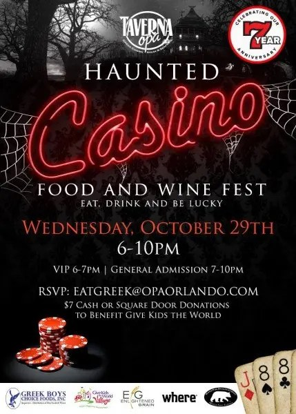 Top 9 Grown Up Halloween Events in Central Florida with www.goepicurista.com