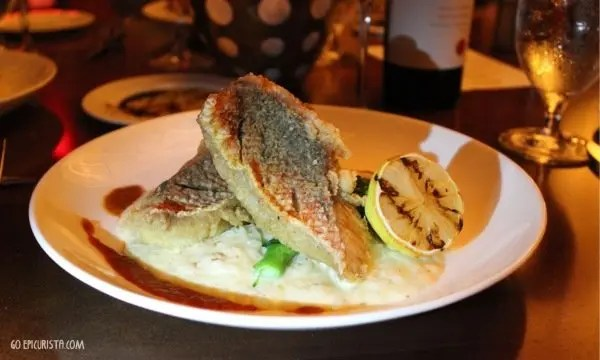 Napa Restaurant Orlando review with www.goepicurista.com, Red Snapper