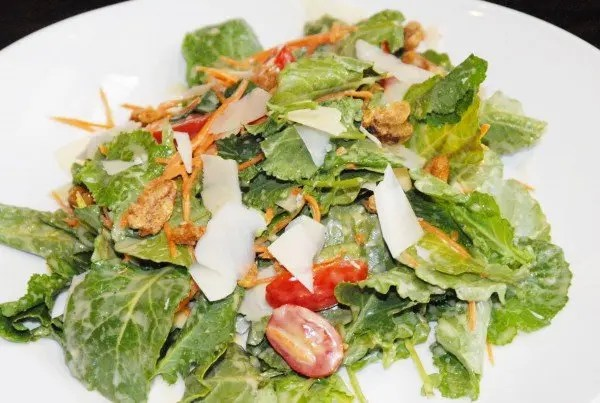 Cocina 214 Citrus Kale Salad with www.goepicurista.com