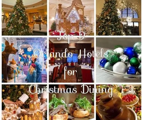 Top 9 Orlando Hotels for Christmas Dining