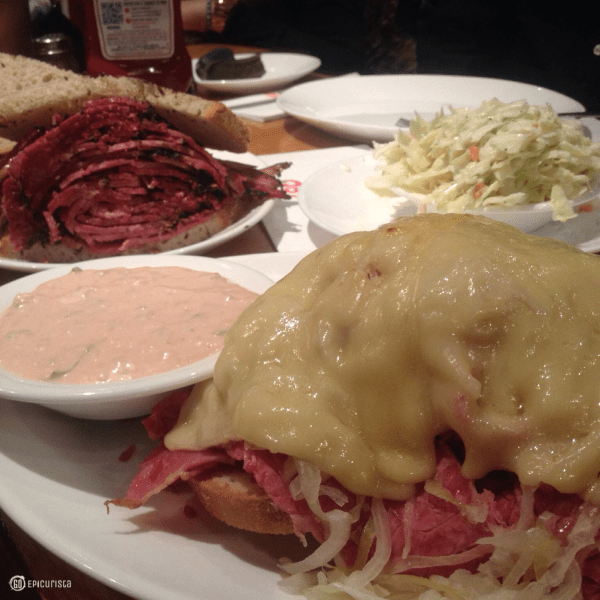 Must Eat Food of New York includes Carnegie Deli and www.GoEpicurista.com