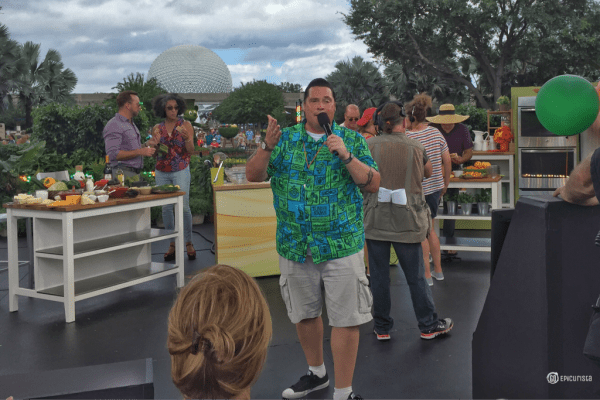 Behind The Scenes of The Chew at Epcot with GoEpicurista.com