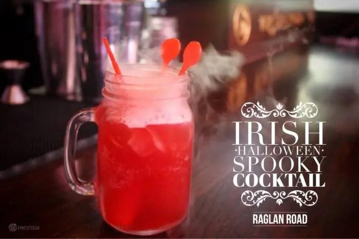 Irish Halloween Spooky Cocktail by Raglan Road with www.GoEpicurista.com