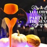 Yelloween Masquerade Party for the Senses 2015 with GoEpicurista.com
