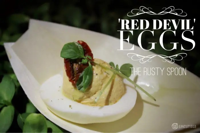 The rusty spoon red deviled eggs recipe go epicurista the rusty spoon red devil deviled eggs recipe with goepicurista forumfinder Choice Image
