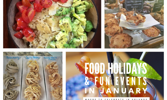 Food Holidays and Fun Reasons to Celebrate in January