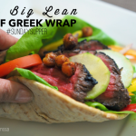 My Big Lean Beef Greek Wrap #SundaySupper
