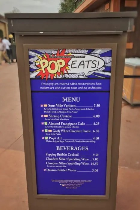 Everything you need to know about Disney's new Festival. Epic Guide to Epcot International Festival of The Arts with www.GoEpicurista.com