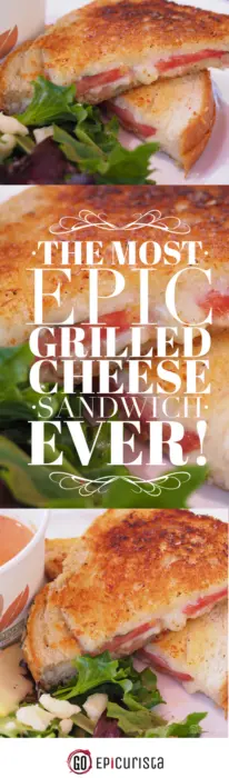 Check out these tips on how to create The Most Epic Grilled Cheese Sandwich Ever with GoEpicurista.com