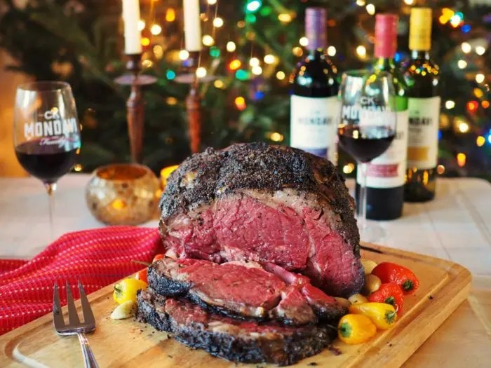 Epic Coffee Crusted Prime Rib Roast by GoEpicurista.com