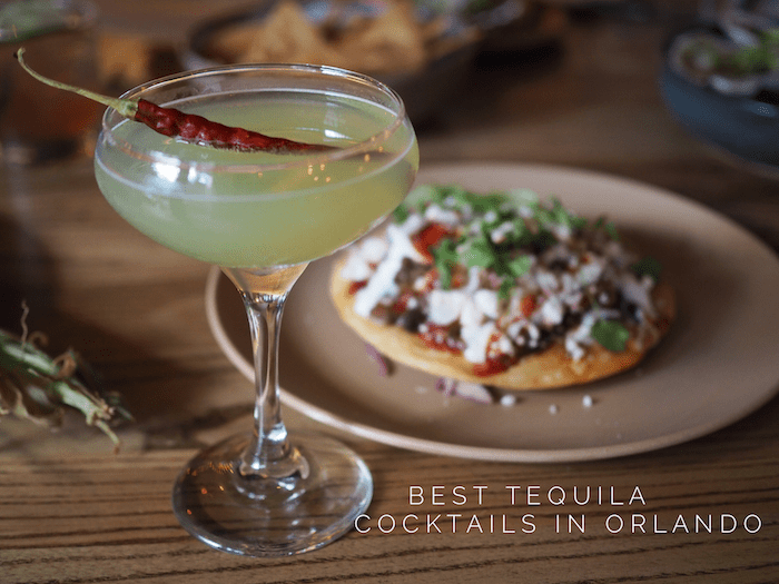 Best Tequila Cocktails in Orlando