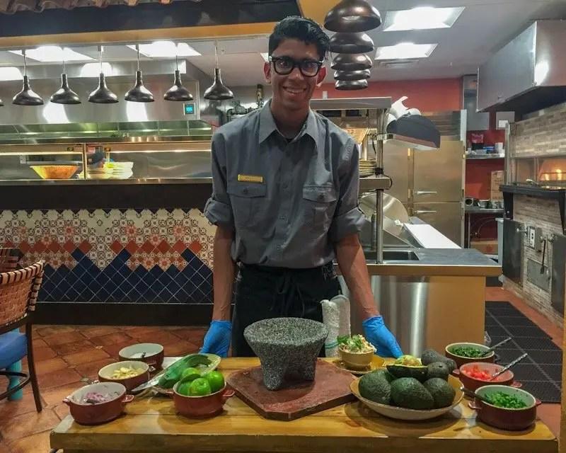 9 Reasons Foodies Love Rosen Shingle Creek Resort in Orlando guacamole made table-side