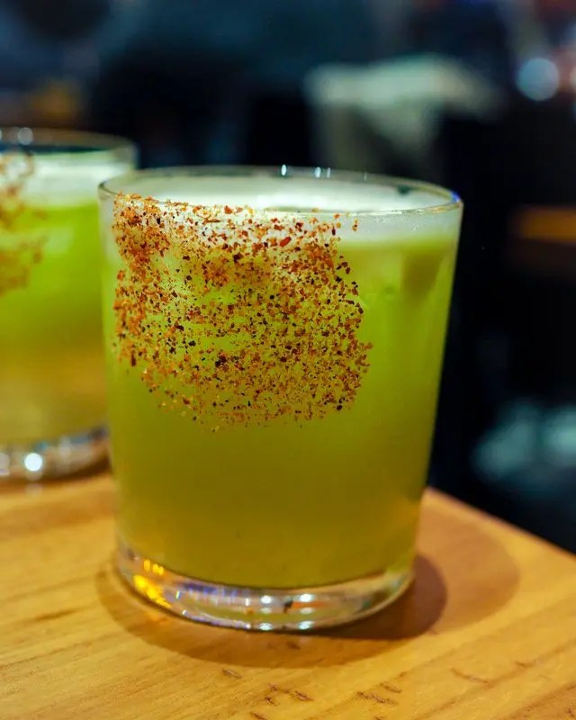 Apple Temptation Cocktail from Frontera Cocina at Disney Springs Taste of Oaxaca Seasonal Menu and Fun Random Facts about Mole including How To Make an Easy Mole from Chef Rick Bayless