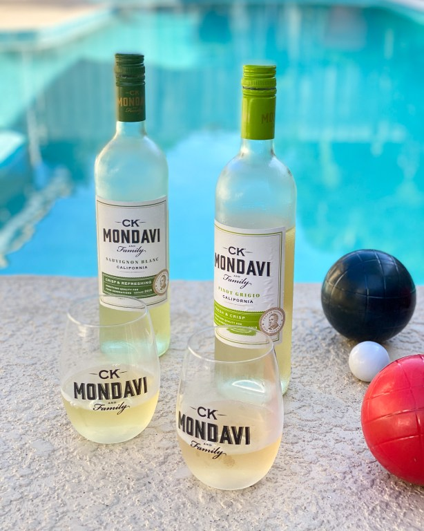 CK Mondavi Wines and bocce ball outdoor games