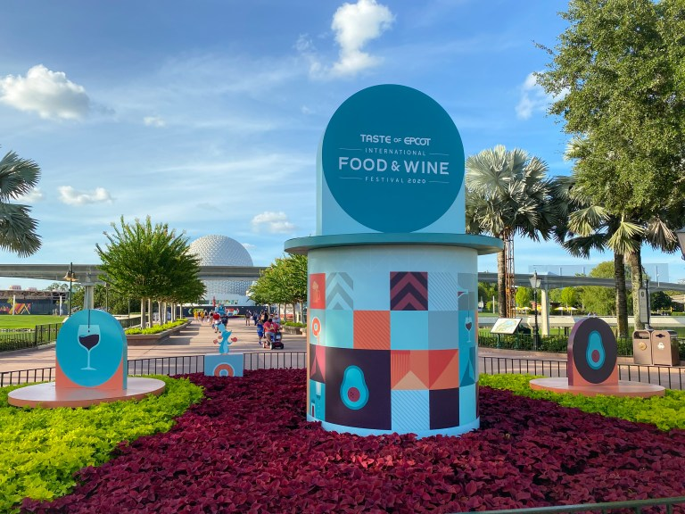 Taste of Epcot Food and Wine Festival 2020 guide with all your questions answered about Disney safety procedures to plan your epic visit
