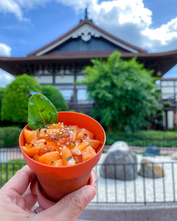 Taste of Epcot Food and Wine Festival guide Sushi Flowerpot