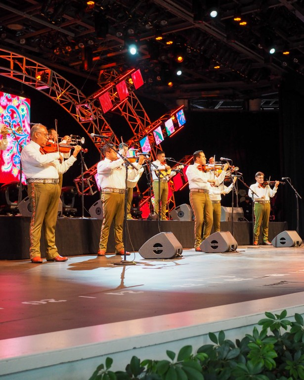 Taste of Epcot Food and Wine Festival guide Mariachi Cobre
