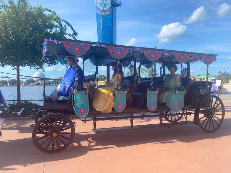 Taste of Epcot Food and Wine Festival guide Disney Princesses
