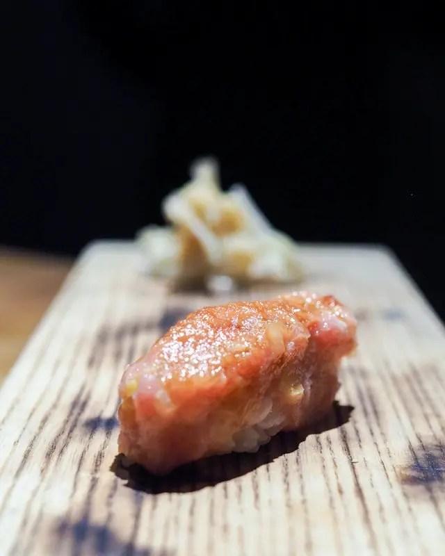 Sushi Course of Momokase Omakase Dinner at Morimoto Asia in Disney Springs