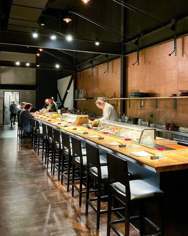 Iron Chef Masaharu Morimoto prepares for Momokase Omakase Dinner at Morimoto Asia in Disney Springs, Orlando