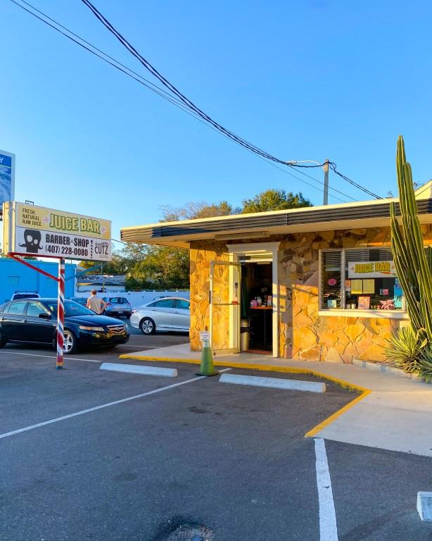 Juice Bar in Orlando Milk District