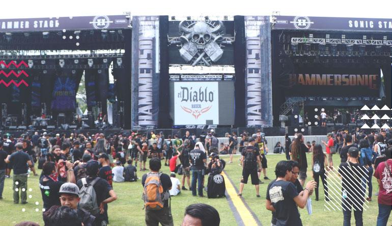 Hammersonic Festival 2017: Festival Akbar Metalheads se-Asia Tenggara