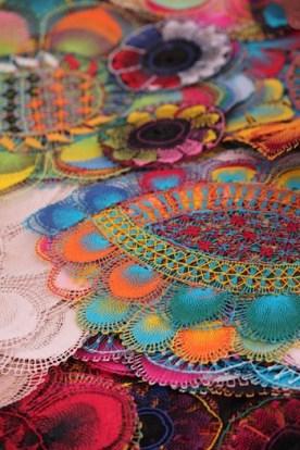 Ñanduti, traditional Paraguayan artisan crochet