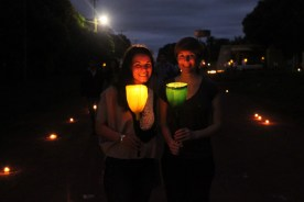 Tañarandy Misiones Paraguay Festival of Light and Art 2014 - Nalena and Allison