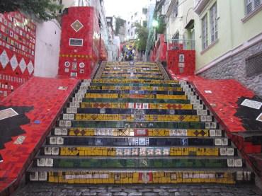 Tiled Steps in Rio de Janeiro