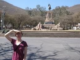 Allison in Salta, Argentina