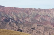 Hill of 14 Colors in Humahuaca, Argentina