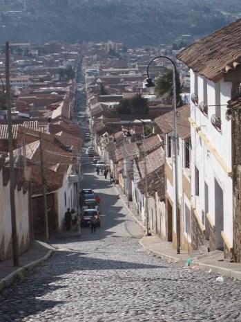 Streets of Sucre, Bolivia