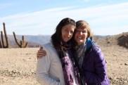Bolivia Salt Flat Tour, Day 1 - Eve and Allison